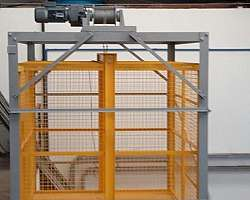 Elevador de carga à prova de explosão