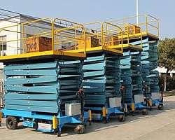 Elevador industrial a venda