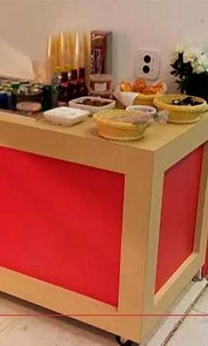 Balcão buffet para restaurante