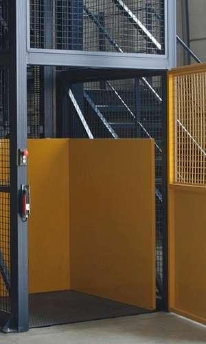 Distribuidor de elevador de carga industrial