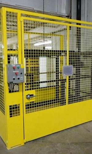 Elevador de carga industrial