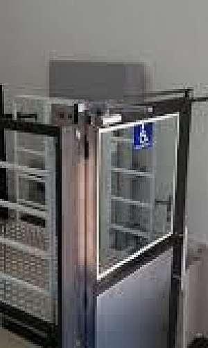 Elevador de plataforma residencial