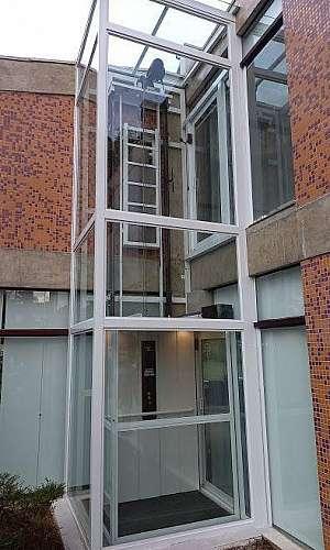 Elevador externo residencial