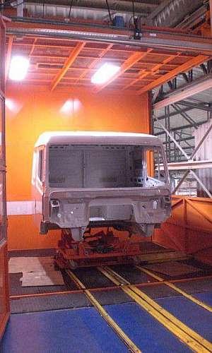 Elevador industrial de carga
