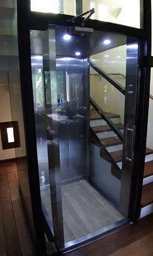 Elevador panorâmico residencial