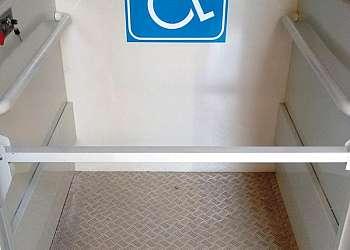 Elevador para cadeirante