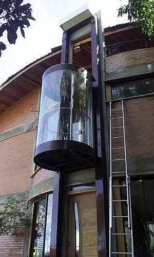 Elevador residencial panorâmico em Porto Velho