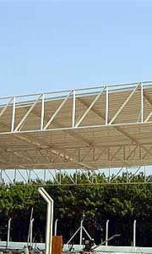 Estrutura metálica para construção civil