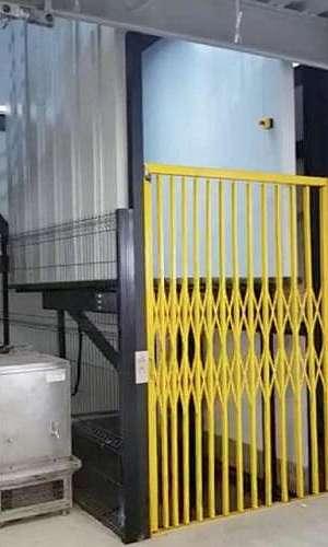 Manutenção de elevadores industriais