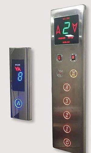 Peças de elevadores