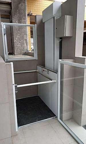 plataforma de acesso para cadeirantes