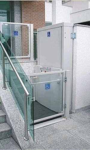 Plataforma elevatória acessibilidade