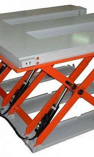 Plataforma ergonômica industrial