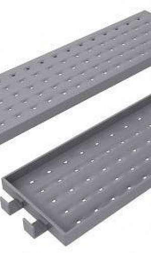 plataforma metálica