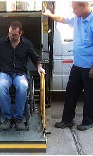 Plataforma veicular para cadeirante
