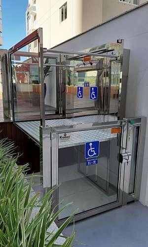Plataformas para deficientes