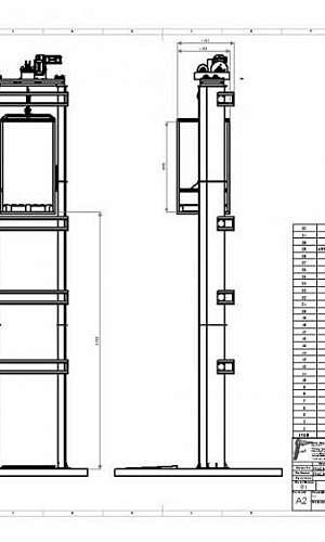 Projeto de elevador