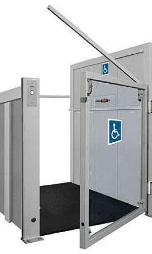 Reparo em plataforma para acessibilidade