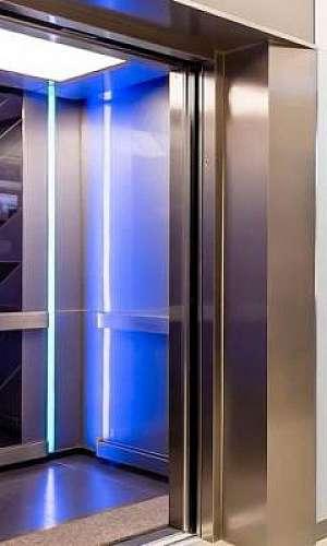 Sistema de higienização de elevador