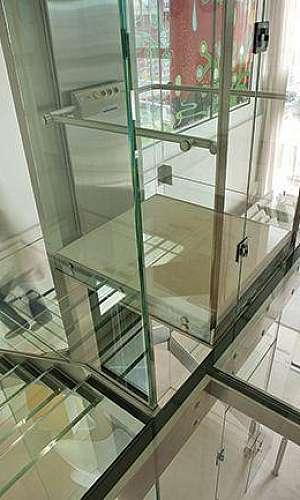 Vidro para elevador
